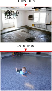 Garage Floor Transformation